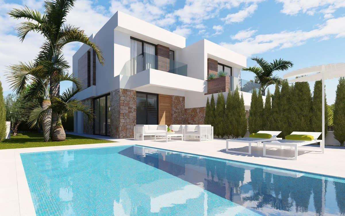 Doppelhaushälfte Villa in Finestrat