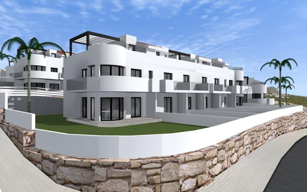 Doppelhaushälften mit Panoramablick