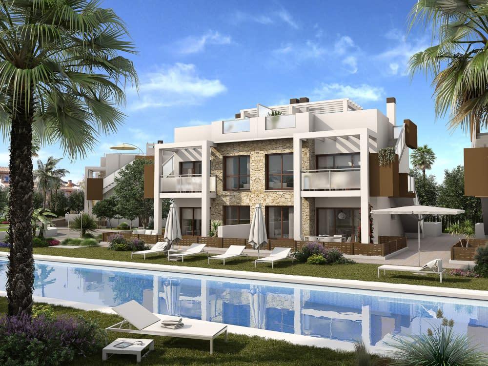 Moderne Wohnungen mit Blick auf den Salzsee