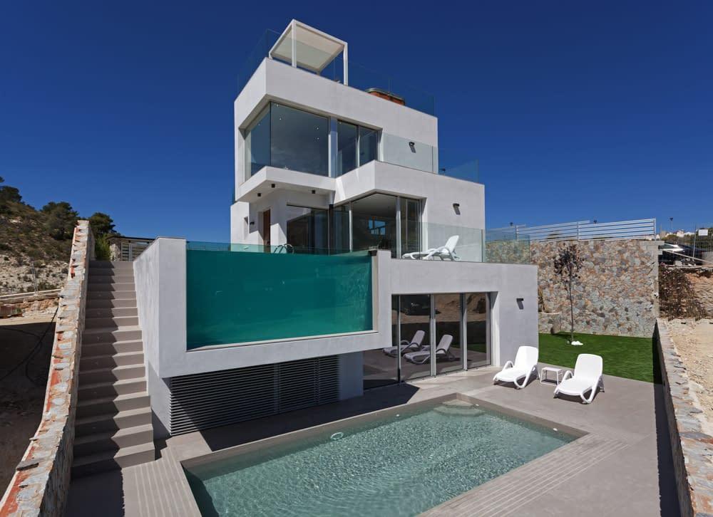 Luxuriöse Villa mit Meerblick Balcones de Finestrat