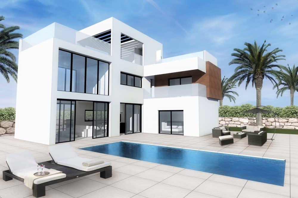 Luxusvilla in Finestrat mit schöner Aussicht