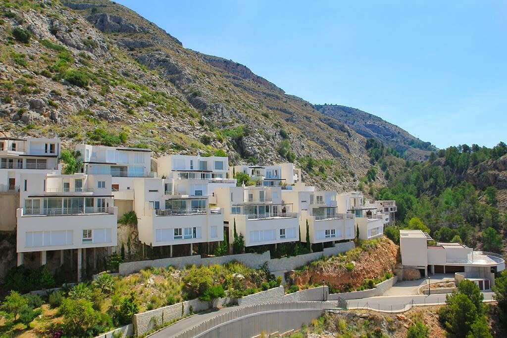 Luxuriöse Villa mit Meerblick in Altea