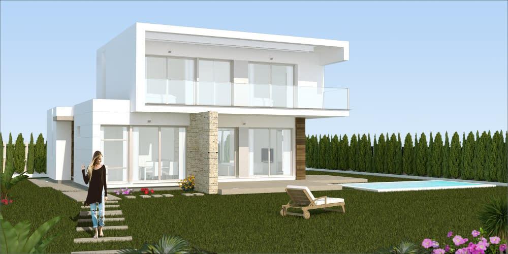 Moderne Villa in bester Lage