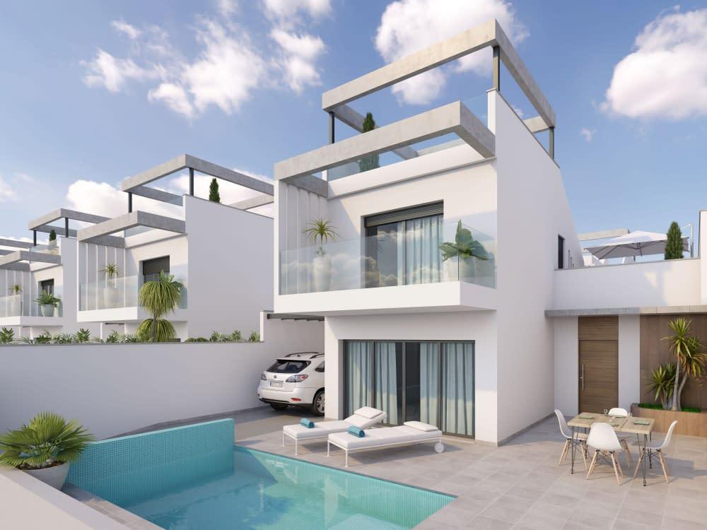 Freistehende Villa 300 Meter vom Meer entfernt