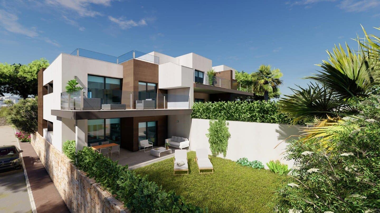 Modernes Apartment mit Meerblick in Benitachell