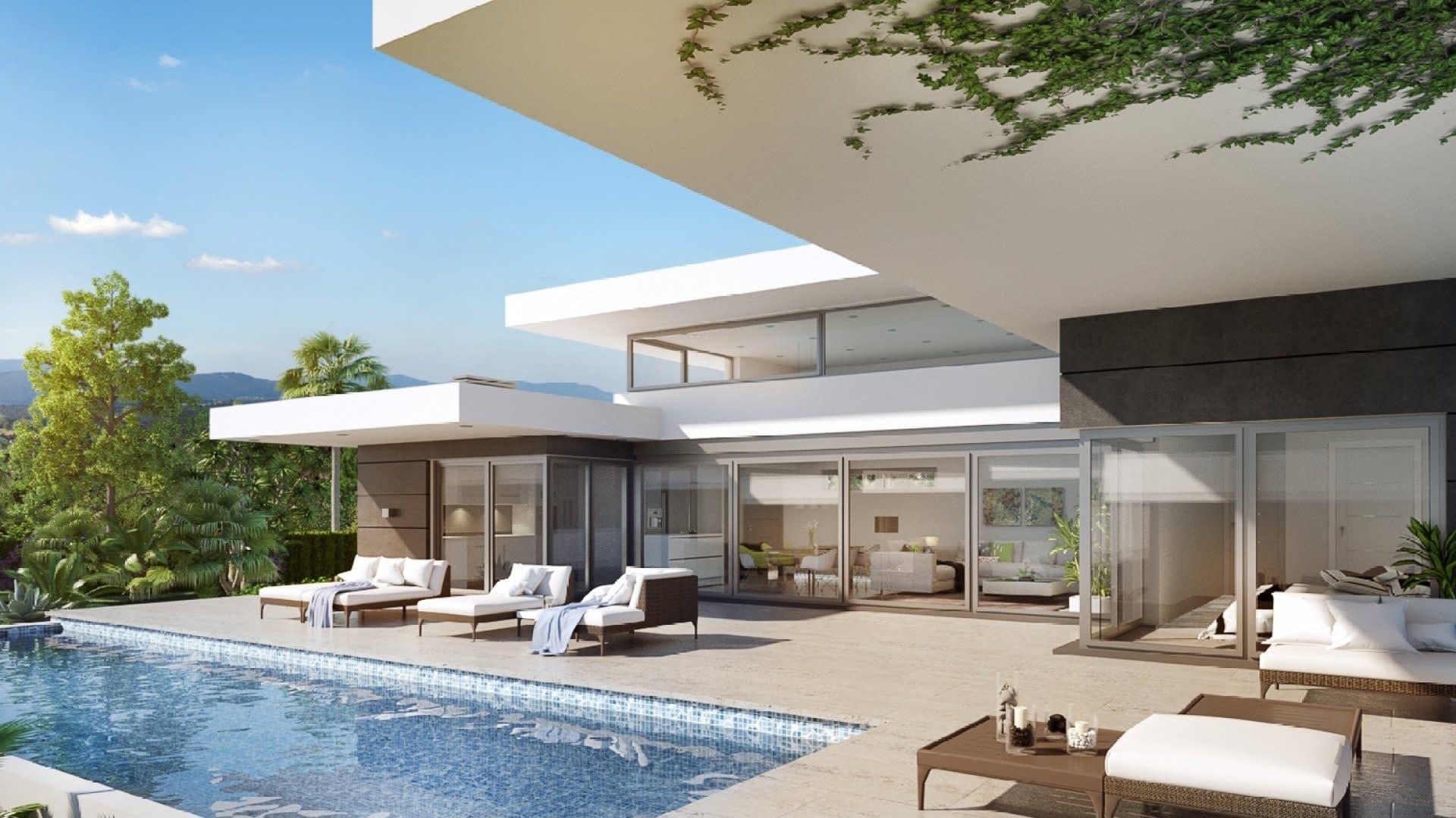 Moderne freistehende Villa mit Schwimmbad, nahe Denia