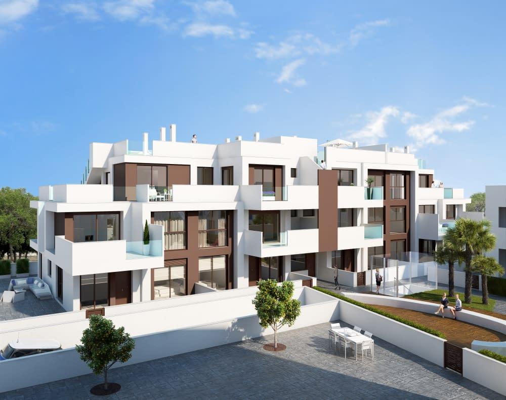 Moderne Wohnung 400 Meter vom Meer entfernt