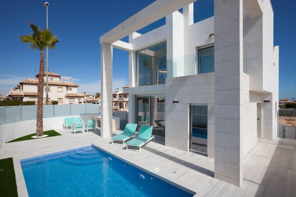 Luxuriöse Villa mit Meerblick, Cabo Roig