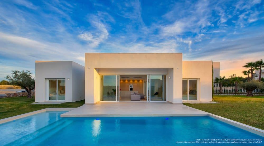 Luxuriöse eingeschossige Villa in Las Colinas Golf