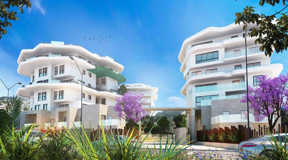 Schöne Wohnungen mit Meerblick in Villajoyosa