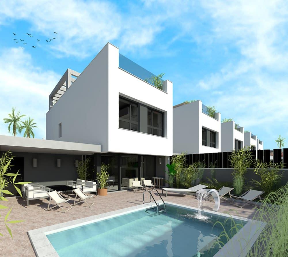 Freistehende Villa in San Javier