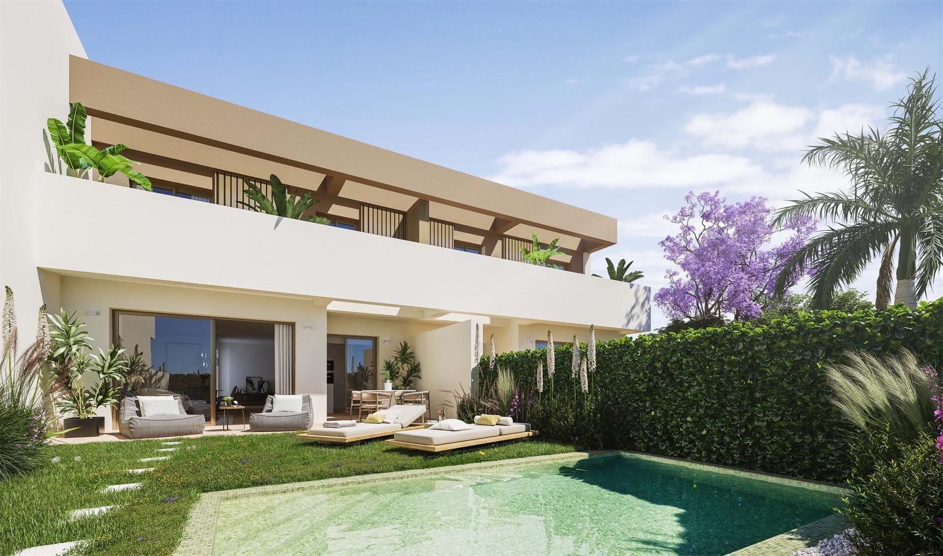 Villen in der Nähe des Zentrums und des Strandes in Alicante